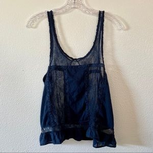 Abercrombie & Fitch crop tank top